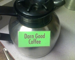 Darn Good Coffee