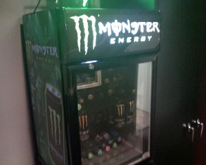 Monster Energy, feed the beast within.